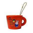 橙色款【日本進口】米飛兔 Miffy 杯子 捏捏吊飾 吊飾 捏捏樂 軟軟 SQUISHY - 612076