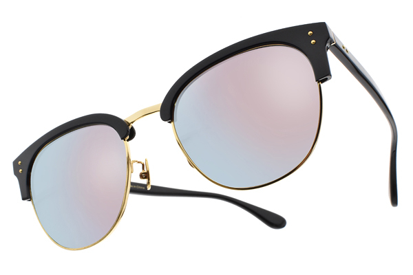 NINE ACCORD 水銀太陽眼鏡 CARDINAL-CS C02 (黑-金) 韓系眉框款 粉水銀款 # 金橘眼鏡