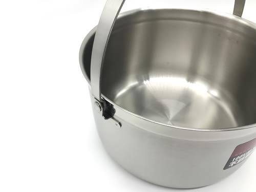 【好市吉居家生活】賓利 B-316-23 316不銹鋼調理提鍋 23CM 電鍋內鍋 湯鍋 不銹鋼鍋