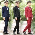 兒童小西裝套裝花童韓版男孩禮服寶寶小孩鋼琴演出五件套  WL1169【潘小丫女鞋】