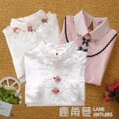 女童童裝春裝秋冬裝兒童中大童韓版純色全純棉女孩長袖打底衫上衣『快速出貨』