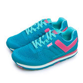 LIKA夢 PONY 繽紛韓風復古慢跑鞋 SOLA-V 經典美式風格 藍粉紅 63W1SO63BL 女