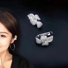 時尚潮流S925純銀鋯石耳骨夾 無耳洞耳環 (0678)