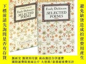 二手書博民逛書店Listen罕見& Read Emily Dickinson s Selected Poems (dover Au