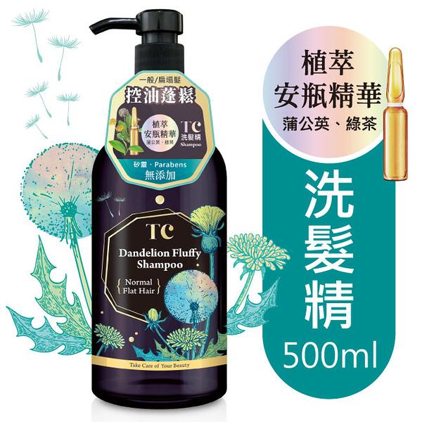 TC蒲公英蓬鬆控油洗髮精500ml