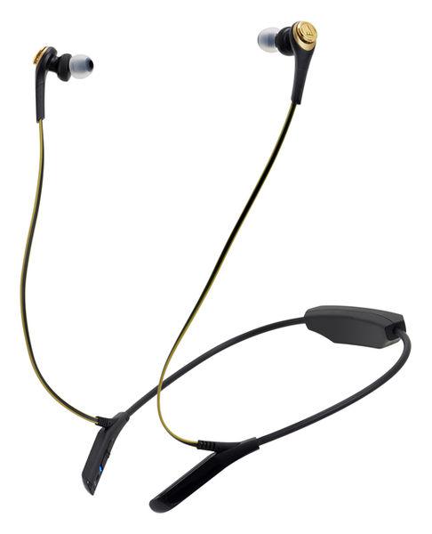 【台中平價鋪】全新 鐵三角 ATH-CKS550BT 黑金 藍芽重低音 耳塞式耳機 台灣鐵三角公司貨