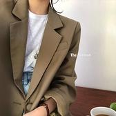 西裝外套女韓版高級感寬松休閑氣質小西服春秋新款981#T238A快時尚