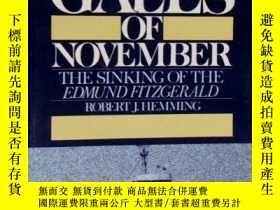 二手書博民逛書店Gales罕見of November: The Sinking of the Edmund Fitzgerald-