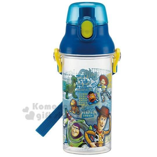 玩具總動員 日製直飲式水壺附背帶