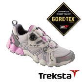 Treksta KOBRA 312 女GTX 防水健行鞋 KR16CW (快速綁帶系統 / 輕量 / 抗菌鞋墊) 黑 戶外 慢跑 登山鞋