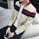飛行夾克   韓版男薄款立領長袖外套