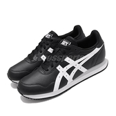 Asics 休閒鞋 Tiger Runner 黑 白 男鞋 復古慢跑鞋 運動鞋 【ACS】 1191A301001