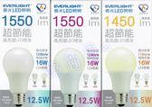 好商量~ 億光 12.5W 超節能 高亮度 LED 燈泡 節能標章 三年保固