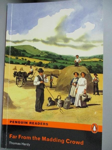 【書寶二手書T3/原文小說_LMX】Far from the Madding Crowd_Thomas Hardy