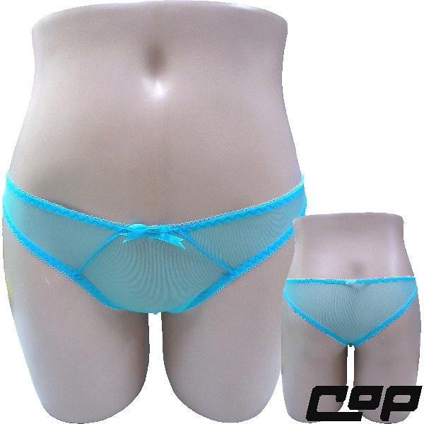 女內褲(COP)F625藍-F-三角