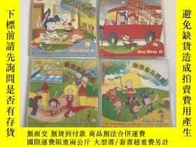 二手書博民逛書店陽光幼兒英語罕見sing along CD(1-4) 未拆封Y2