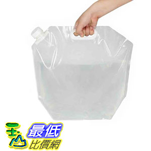 [106美國直購] 儲水袋 Echolife 10 Litres Collapsible Drinking Water Container BPA-Free Water Storage Bag Portable