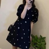 大碼女裝-夏年新款胖mm顯瘦輕奢小香風雪紡連衣裙子設計感小眾大碼女裝
