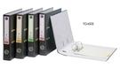 同春 環保PP合成紙二孔拱型夾 12個/箱 TG450S