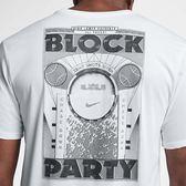 Nike T恤 Dri-Fit Lebron 白 黑 男款 籃球 短T 詹皇 【PUMP306】 913478-100