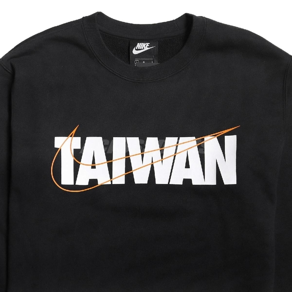 Nike 長袖T恤 Taiwan Tee 黑 白 男款 大學T 運動休閒 台灣 【ACS】 CU1604-010