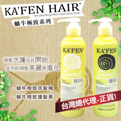 KAFEN卡氛 極致洗髮精/護髮素 250ml【BG Shop】