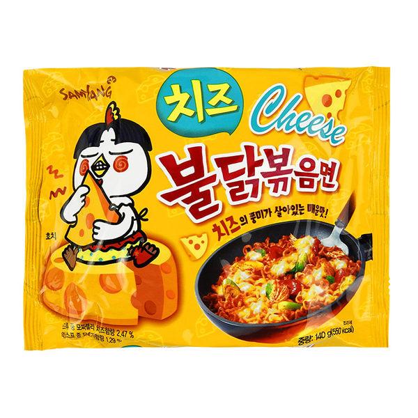 韓國 SAMYANG 三養 火辣雞肉風味鐵板炒麵/乾燒拉麵 140g 起司味/泡麵 ◆86小舖◆