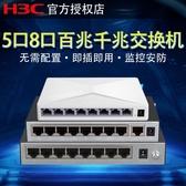 企業級家用網路分線器網線分流器監控集線器 快速出貨