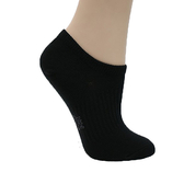 【MIT 奈米除臭襪】雪夫 CHAFER, 船襪/隱形襪, 奈米竹炭銀絹淺口氣墊除臭健康 款 - 普若Pro