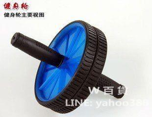 雙輪健腹器 鍛煉腹肌 家用健身用品