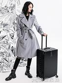 拉桿箱 旅行箱行李箱鋁框拉桿箱萬向輪20女男學生24密碼皮箱子【免運快出】