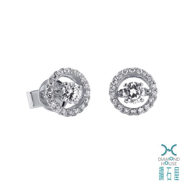 【鑽石屋】15分鑽石耳環