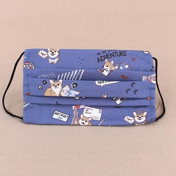 雨朵防水包 U369-021 小孩-口罩套平面四摺