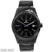 【台南 時代鐘錶 SIGMA】簡約時尚 藍寶石鏡面時尚腕錶 9814M-LB 黑鋼 41mm 平價實惠好選擇