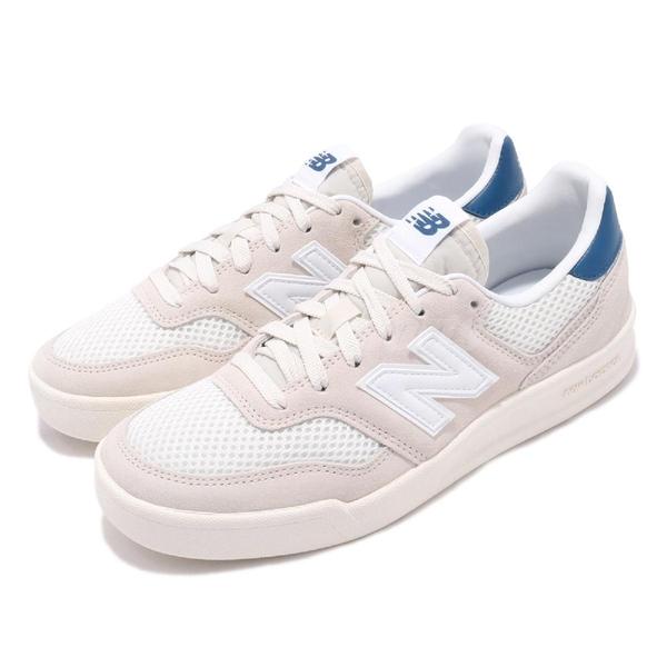 New Balance 休閒鞋 300 NB 白 米白 復古奶油底 麂皮鞋面 男鞋 女鞋 運動鞋 【ACS】 CRT300E2D