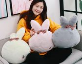 全館83折兔子抱枕被子兩用夏涼被午睡車用毛毯子辦公室枕頭可愛靠枕三合一