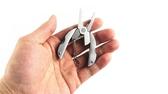 戶外多功能折疊鉗子隨身便攜鑰匙扣小刀【步行者戶外生活館】