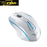 T.C.STAR 連鈺 TCN191WE 背光電競光學滑鼠(白)