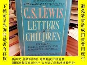 二手書博民逛書店C.罕見S. Lewis: Letters to Childre