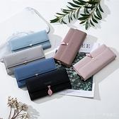 卡包錢包皮夾2020新款日韓簡約時尚長款女士折疊多功能大容量手拿 新品全館85折