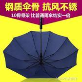 雨傘 雨傘印logo字定做商務雙人禮品傘自動傘晴雨傘男女 1995生活雜貨igo