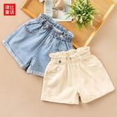短褲 女童牛仔短褲2020夏季新款女孩韓版時尚短褲兒童薄款寬鬆短褲子