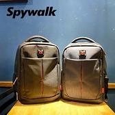 SPYWALK 質感簡約硬挺後背包 NO:S9389