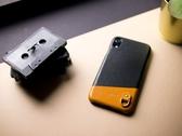 Alto iPhone XR 真皮手機殼背蓋 6.1吋 Anello - 渡鴉黑 皮革保護套