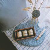 進口天然精油香薰蠟燭無煙香氛蠟燭禮盒婚慶生日禮物玻璃杯薰衣草