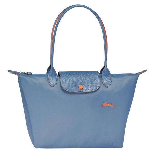 LONGCHAMP 2605 女士女包LE PLIAGE COLLECTION系列織物中號手提單肩包購物袋