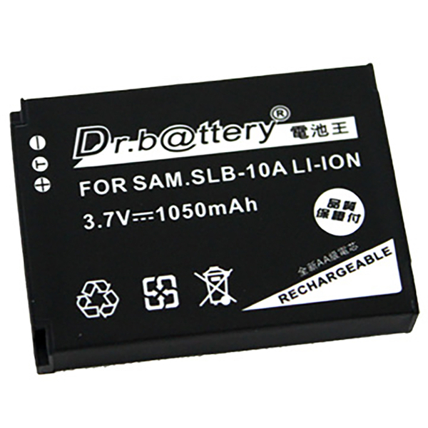 Dr.b@ttery電池王 for SAMSUNG SLB-10A/SLB-11A 共用 高容量鋰電池