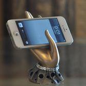 手機架 桌面懶人手機支架創意可愛手機座支架裝飾擺件 綠光森林