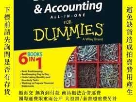 二手書博民逛書店Bookkeeping罕見and Accounting All-in-One For Dummies - UK,