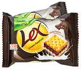 【吉嘉食品】馬來西亞 悅情 雷力士夾心餅(巧克力) 奶素 600公克 {MF00-38}[#600]